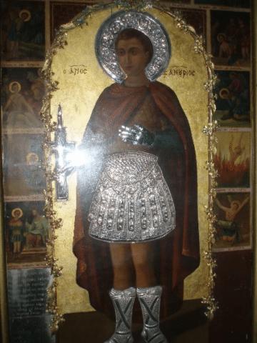 Original icon of St. Phanourios from Rhodes1